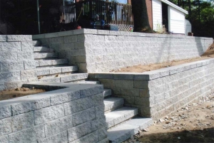 Expert Retaining Wall Dawn to Dusk Landscape