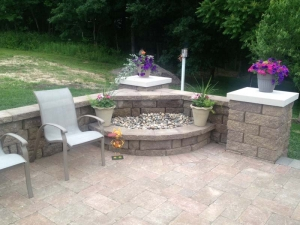 Dawn To Dusk Landscape Custom Patio Design