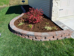 Brick Edging Retaining Walls