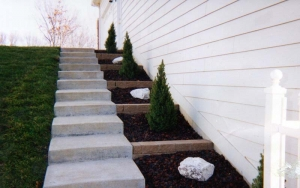 Retaining Wall and Landscaping Edwardsville