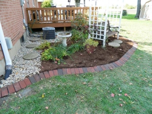 Custom Patio Design Dawn to Dusk Landscape